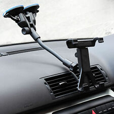 Dual Suction Car Windscreen Mount + X Tablet Holder for Samsung Galaxy Tab E 9.6