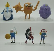 6pcs Adventure Time NEW action figure toy jake finn ice king SA66M