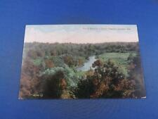 POSTCARD NORTH BRANCH RIVER THAMES LONDON ONTARIO CANADA WATER TREES FIELD SCENE