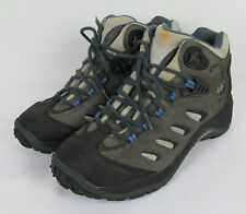 Womens Merrell Reflex Mid Hiking boots leather Waterproof Trail Shale Size 10