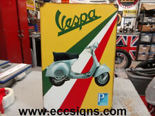 VESPA MOTORCYCLE PIAGGIO   SIGN PARTS & ACCESSORIES EC0204