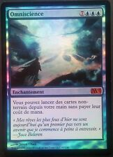 Omniscience M13 PREMIUM / FOIL VF - French M13 Omniscience - Magic mtg NM