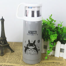 Anime Totoro Stainless Steel Vacuum Cup Bullet Thermos Cafe Tea Bottle Gift Box