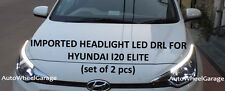 Premium Quality Imported Headlight LED DRL for Hyundai i20 Elite - Set of 2pcs