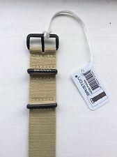 BRISTON Watch Strap - Khaki PVD Details - SALE!
