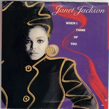 JACKSON, Janet  (When I Think Of You)  A&M 2855 = PICTURE SLEEVE ONLY!!!