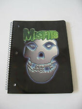 The Misfits Band Crimson Ghost Spiral Notebook Paper Inside Design Punk