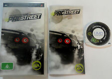 Need for Speed Prostreet Sony Playstation Portable PSP Game Complete AUS