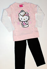 Hello kitty à manches longues pyjama set-taille: 3-4 98/104 cm