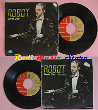 LP 45 7'' DAVID ZED Robot r.o.b.o.t. 1980 italy EMI 3C 006- 63613 cd mc dvd