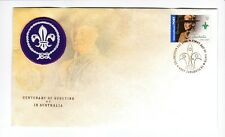 2008 Centenary of Scouting in Australia First Day Cover with $2 Stamp and Patch