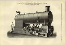 1884 50 Hp Semifixed Compound Engine Ruston Proctor