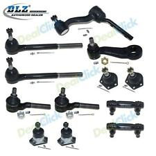 Front Ball Joints Tie Rod Ends Pitman Idler Arm for 1984-1995 Chevrolet S10(4WD)