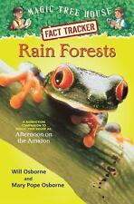Magic Tree House Fact Tracker #5: Rain Forests: A Nonfiction Companion-ExLibrary