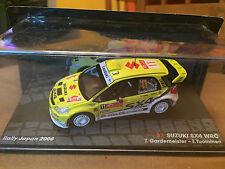 """DIE CAST """"SUZUKI SX4 WRC T.GARDEMEISTER / T.TOUMINEN RALLY JAPAN 2008"""" 1/43"""