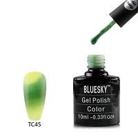 BLUESKY NEW TC45 THERMAL COLOUR CHANGE UV LED SOAK OFF GEL NAIL POLISH 10ML