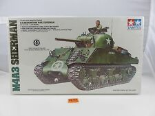 Tamiya U.S. Medium Tank M4A3 Sherman 1/35 Scale Plastic Model Kit SEALED