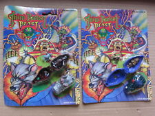 Mini Pocket Beast Monster Mighty Max Ko toy horror playset MIMP Vintage 90s