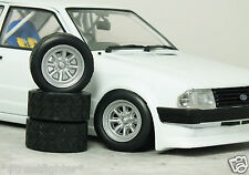 1:18 SunStar FORD ESCORT Rs RALLY 'MINILITE/ Supalite' WHEELS MODIFIED TUNING