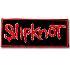 Slipknot Patch Iron on Music American Heavy Metal Band Badge Sewing Punk Rock