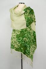 Pashmina Schal Kaschmir 70% Cashmere Kaschmir, 30% Seide handgewebt Silk bedruck
