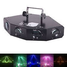 Cuelighting Brahma Luz Disco-Quad Lente MOONFLOWER RGBW + LED ámbar Dmx