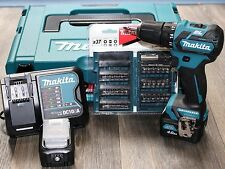 Makita DF332DSMJ + Bit-Set 37-tlg. Akku-Bohrschrauber 10,8V, mit 2x Akku 4,0Ah