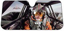 Star Wars Luke Sunshade Windshield Wind Shield Sun Shade Visor Car Windscreen Nu