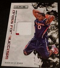 JEFF TEAGUE 2009-10 Panini Rookies & Stars PATCH Dress For Success #d /50 HAWKS