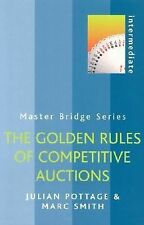 The Golden Rules of Competitive Auctions (Master Bridge Series) by Pottage, Jul