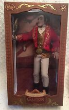 "GASTON from Beauty & the Beast 17"" Doll #526 of 2500 Limited Edition NEW Disney"