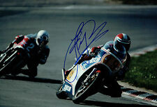 Fast Freddie SPENCER SIGNED Photo HONDA Rider Brands Hatch AFTAL Autograph COA
