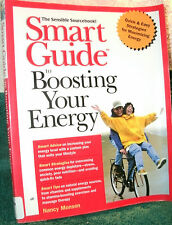 SMART GUIDE TO BOOSTING YOUR ENERGY by NANCY MONSON 1999 PB 1ST ED SIGNED