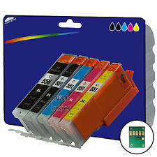 1 Set Compatible Printer Ink Cartridges for Canon Pixma MG5450 Printer [550/1]