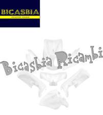9253 - KIT 7 PEZZI CARENE BIANCO MBK OVETTO - YAMAHA NEO'S 50 '07/'14