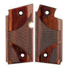 SIG SAUER P238 P 238 -  ROSEWOOD LAMINATED WOOD CHECKERED CUSTOM GRIPS