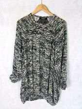 ISABEL MARANT SIZE 40 OR UK 12 SILK MIX MAINLINE POCKETED BOHO DRESS TOP