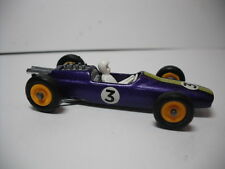 Vintage Lesney Matchbox #19 Lotus F1 Racing Car- PURPLE # 3-   Restored to Mint