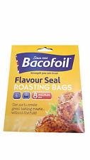 BACOFOIL EASY ROAST MULTI PURPOSE OVEN BAGS 8 MEDIUM SIZE IN A PACK