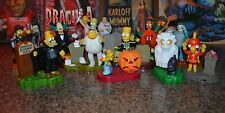 Simpsons 15 Piece Halloween Treehouse Of Horror Figures Bases 2002 Burger King