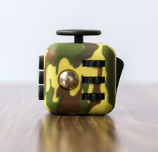 Army Green ! Magic Fidget Cube Anti-anxiety Adults Stress Relief Kids Toy Gift