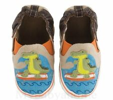 NIB Boys Shoes ROBEEZ Hangin Ten Gator 0-6 months 1 2