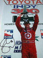 Scott Dixon SIGNED 12x8 Victory Podium Portrait, Indycar Champion 2013
