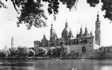 Postcard - Shrine of El Pilar and River Ebro, Zaragoza, SPAIN   (1400)