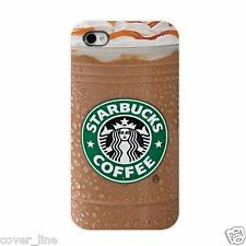 COVER PER IPHONE 5 5S IN PLASTICA RIGIDA DESIGN STARBUCKS