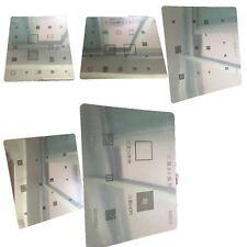 9 in 1 IC Repair BGA Rework Reballing Stencil Template Repair Tool For Samsung
