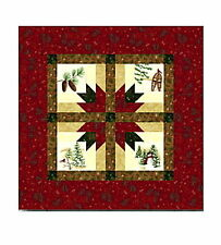 HOLIDAY IN THE PINES TABLE TOPPER QUILT KIT - Pattern + Moda Fabric Holly Taylor