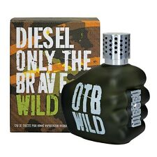 DIESEL ONLY THE BRAVE WILD 4.2 oz / 125 ml EDT SPRAY MEN NEW IN BOX SEALED