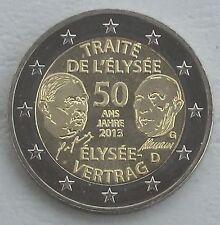 2 euros Alemania g 2013 elíseo-tratado unz
