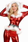 NEW! Sexy Mrs Claus 3 pc Christmas Costume Pant & Top Set w/ Hoodie! 7202 USA!